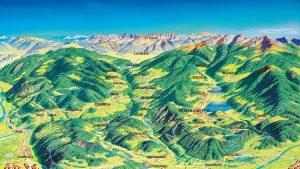 Val di Cembra and Alto Piano di Pine